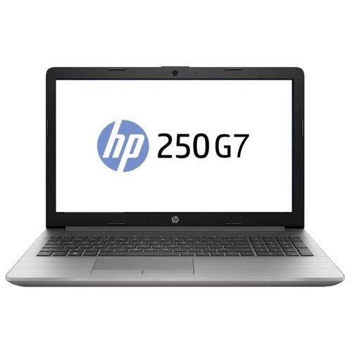 "Ноутбук HP 250 G7 (Intel Core i7 1065G7 1300MHz/15.6""/1920x1080/8GB/256GB SSD/DVD-RW/Intel Iris Plus Graphics/DOS) 175T3EA asteroid silver"