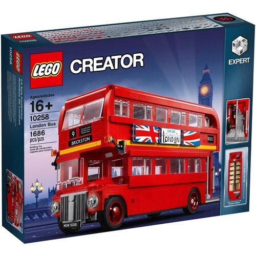 Фото - Конструктор LEGO Creator 10258 Лондонский автобус lego creator городской магазин игрушек 31105