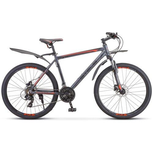 Горный (MTB) велосипед STELS Navigator 620 D 26 V010 (2020) антрацитовый 17 (требует финальной сборки)
