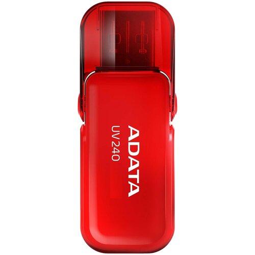 Фото - Флешка ADATA UV240 16 GB, красный флешка adata uv240 16 gb черный