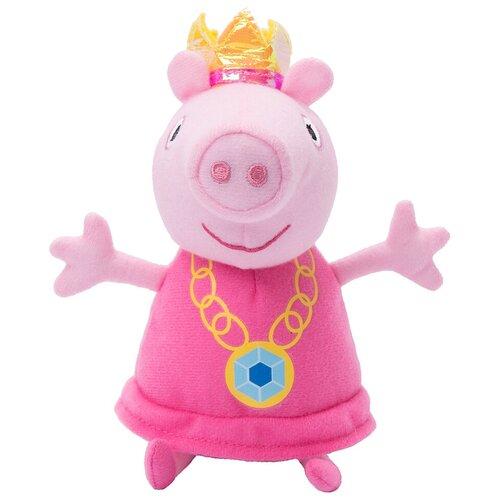 Мягкая игрушка РОСМЭН Peppa pig Пеппа принцесса 20 см