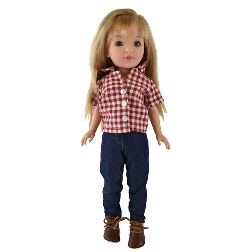 Купить Кукла Vidal Rojas Пепа блондинка в брюках (в подарочной коробке), 41 см, 4514, Куклы и пупсы