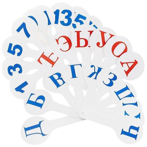 Купить Набор букв и цифр Darvish Набор вееров DV-2770, Обучающие материалы и авторские методики
