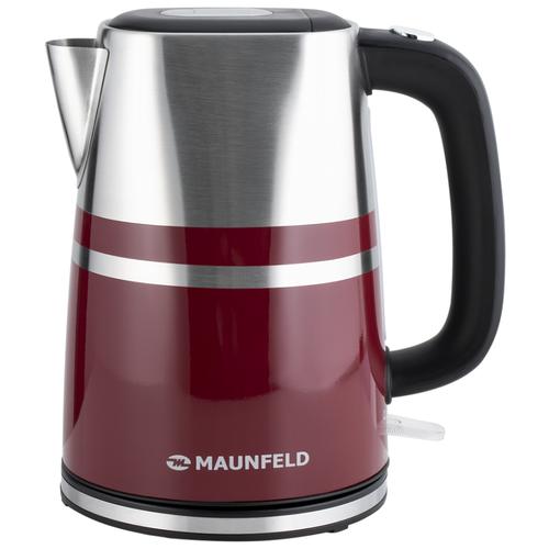 Фото - Чайник MAUNFELD MFK-622CH, вишневый чайник электрический maunfeld mfk 622ch