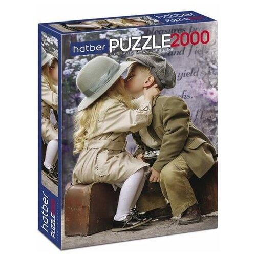 Купить Пазл Hatber Premium Первая любовь (2000ПЗ1_21002), 2000 дет., Пазлы