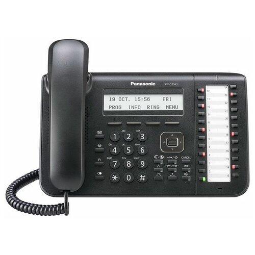 Системный телефон Panasonic KX-DT543 черный