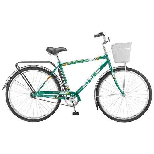 """Городской велосипед STELS Navigator 300 Gent 28 Z010 (2019) зеленый 20"""" (требует финальной сборки)"""