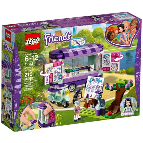 Конструктор LEGO Friends 41332 Выставка Эммы