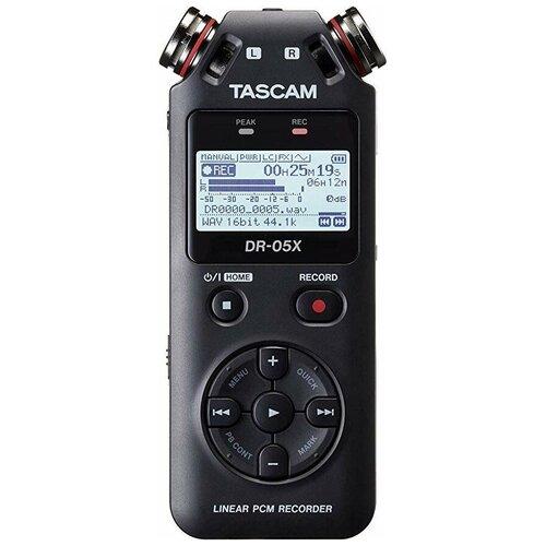 Портативный рекордер Tascam DR-05X черный