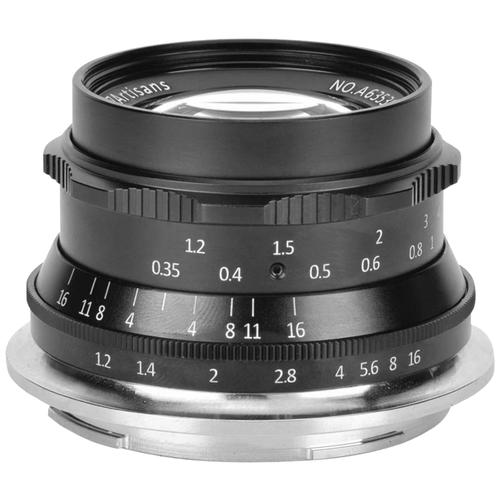 Фото - Объектив 7artisans 35mm f/1.2 Nikon Z черный объектив nikon 35mm f 1 8 nikkor z nikon z черный [jma102da]