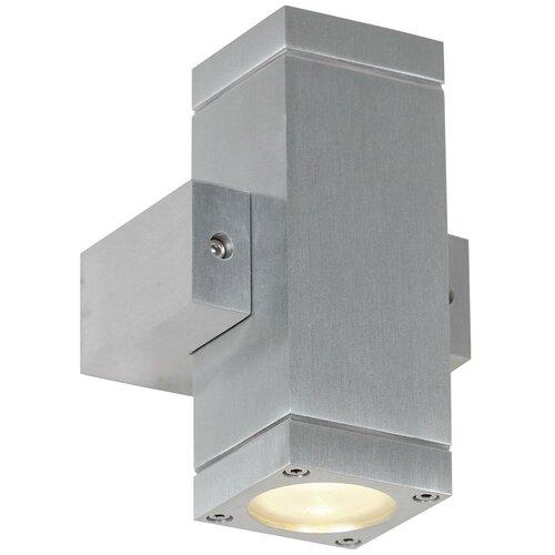 Настенный светильник Lussole Vacri GRLSQ-9511-02, GU10, 11 Вт, кол-во ламп: 2 шт., цвет арматуры: серый