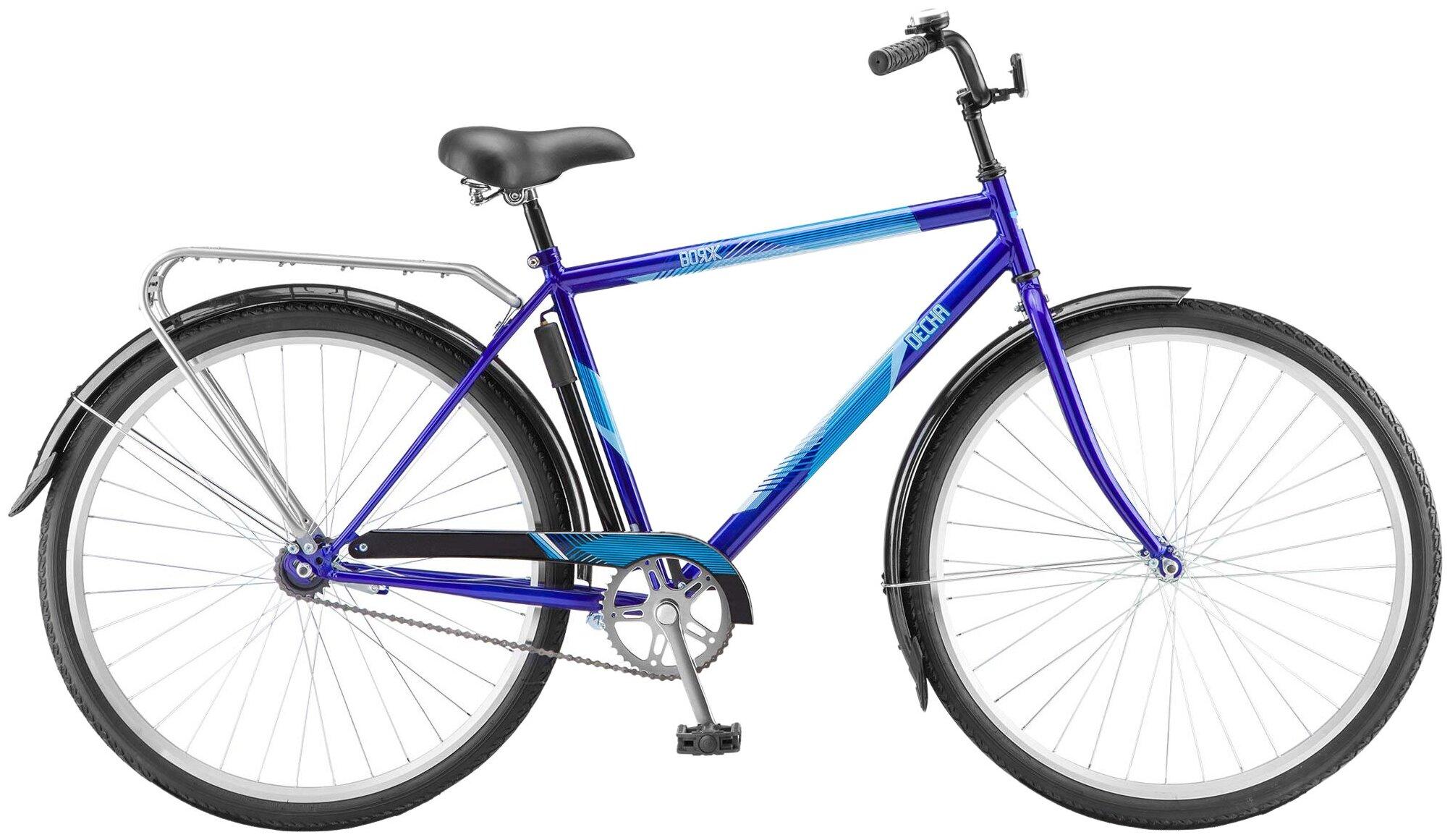 Городской велосипед Десна Вояж Gent (2019) темно-синий 20