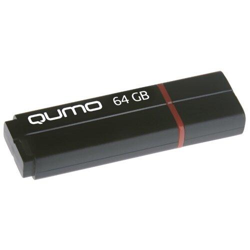 Фото - Флешка Qumo Speedster 64 GB, черный флешка usb 32gb qumo speedster usb3 0 черный qm32gud3 sp black