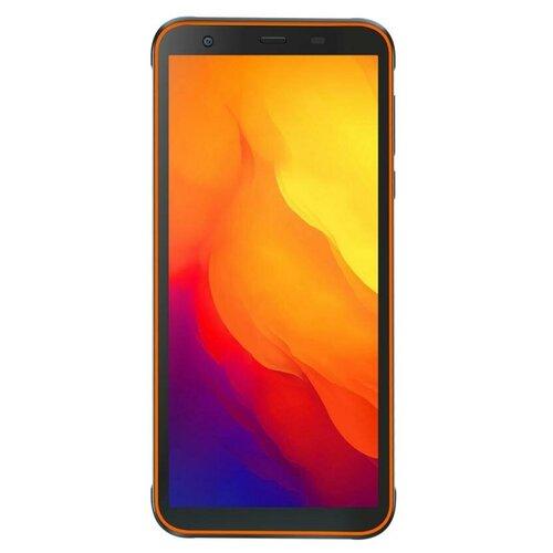 Смартфон Blackview BV6300 Pro, черный/оранжевый смартфон blackview bv4900 черный оранжевый