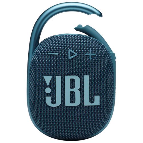 Портативная акустика JBL Clip 4, 5 Вт, синий