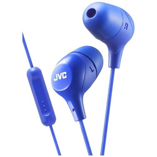 Наушники JVC HA-FX38M, blue наушники jvc ha fx38m b e черный