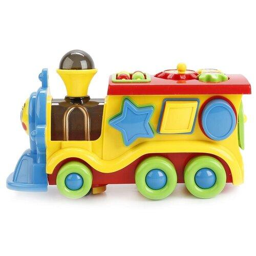 Купить Обучающая игрушка Умка Паровозик из Ромашкова, 8 функций (B746947-R1), Развивающие игрушки