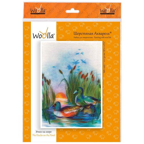 Купить Woolla WA-0167 набор Утки на озере ., Валяние
