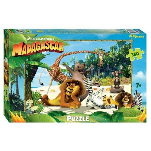 Пазл Step puzzle Dreamworks Мадагаскар - 3 (96083), 360 дет. пазл step puzzle король лев 96079 360 дет