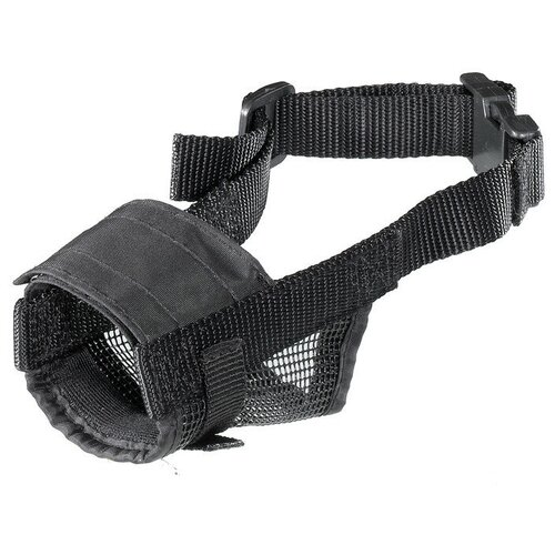 намордник для собак ferplast safe medium обхват морды 20 25 см черный Намордник для собак Ferplast Muzzle net S, обхват морды 12-19 см черный