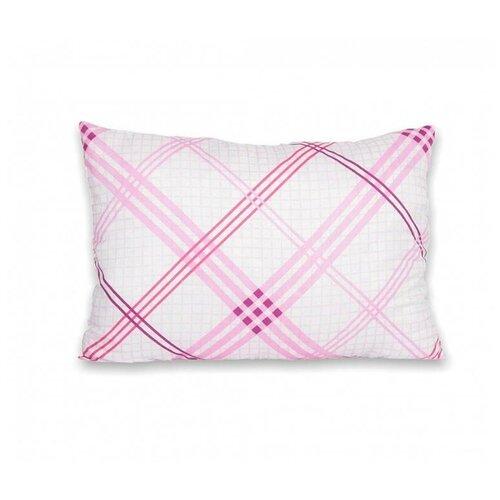 Подушка АльВиТек Антикризис (ПС-050) 50 х 68 см розовый/белый