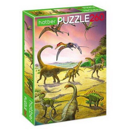 Купить Пазл Hatber Эра динозавров (260ПЗ4_19518), 260 дет., Пазлы