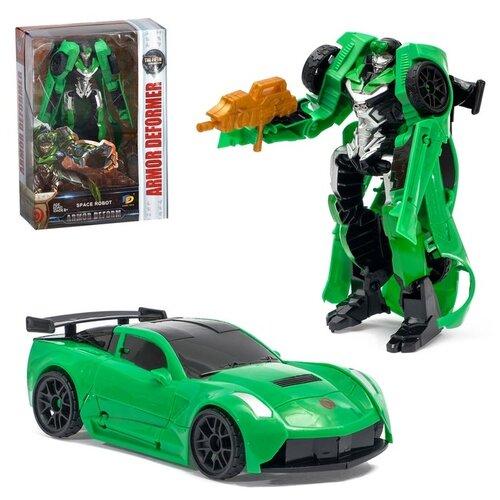 Купить Робот «Автобот» Зеленый, Dade Toys, Роботы и трансформеры