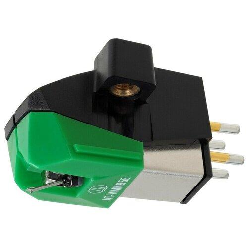 Фото - Картридж Audio-Technica AT-VM95E зеленый виниловый проигрыватель audio technica at lpw50pb