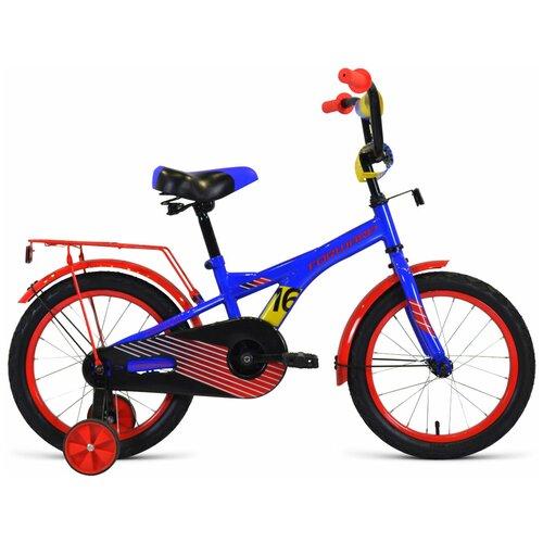 Фото - Детский велосипед FORWARD Crocky 16 (2020) синий/красный (требует финальной сборки) детский велосипед forward barrio 18 2020 красный требует финальной сборки