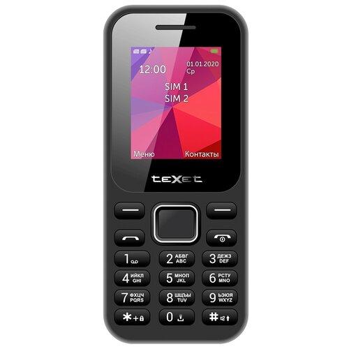 Телефон teXet TM-122 черный