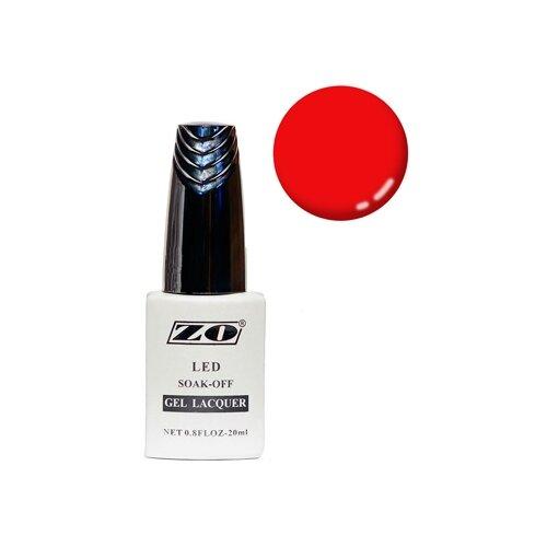 Купить Гель-лак для ногтей ZO GL, 20 мл, 326 красный