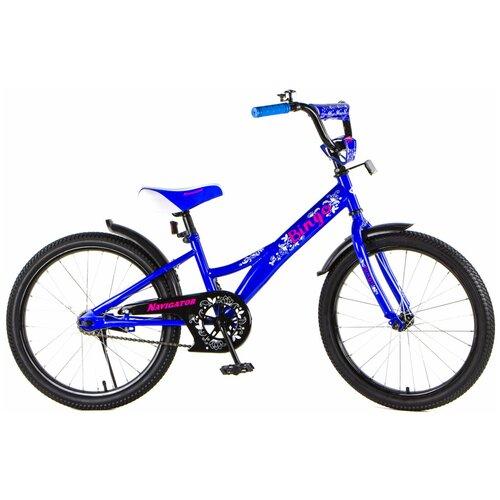 детский велосипед navigator bingo вн12158 белый с рисунком требует финальной сборки Детский велосипед Navigator Bingo (ВН20187/ВН20188) синий (требует финальной сборки)