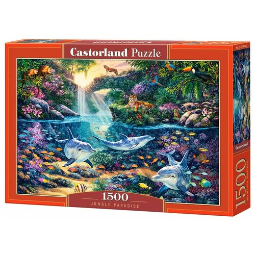 Пазл Castorland Jungle Paradise (C-151875), 1500 дет. пазл castorland kittens play time c 151639 1500 дет