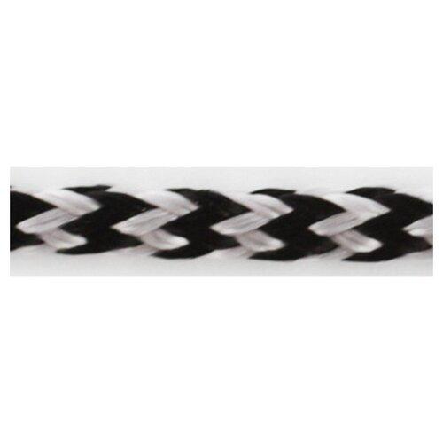 Шнуры PEGA плетеный, цвет черно-белый, 3,0 мм 100 % вискоза
