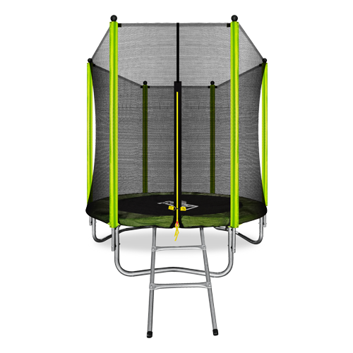 Каркасный батут ARLAND 6FT Outside 183х183 см светло-зеленый