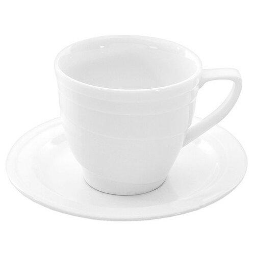 Чашка для экспрессо с блюдцем Hotel (95 мл) BergHOFF