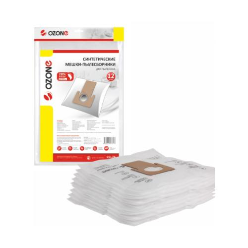 мешки пылесборники ozone xxl p05 бумажные 12 шт 2 микрофильтра для bosch siemens scarlett ufesa OZONE micron XXL-09 мешки пылесборники синтетические, многослойные + 2 микрофильтра пылесборники 12 шт. (SAMSUNG)