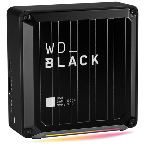 Фото - Внешний SSD Western Digital WD_BLACK D50 Game Dock NVMe SSD 1 ТБ, черный arduino dht11 digital temperature humidity sensor module compatible with rpi stm32