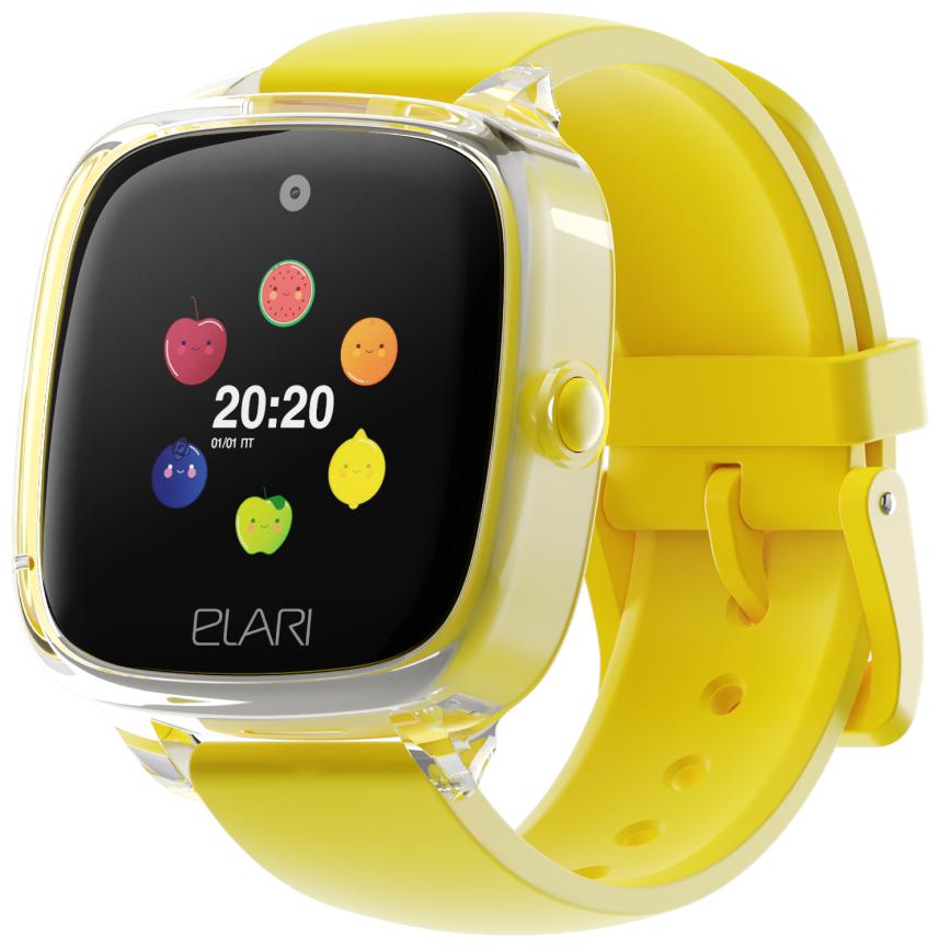 Детские умные часы ELARI KidPhone Fresh, желтый фото 1