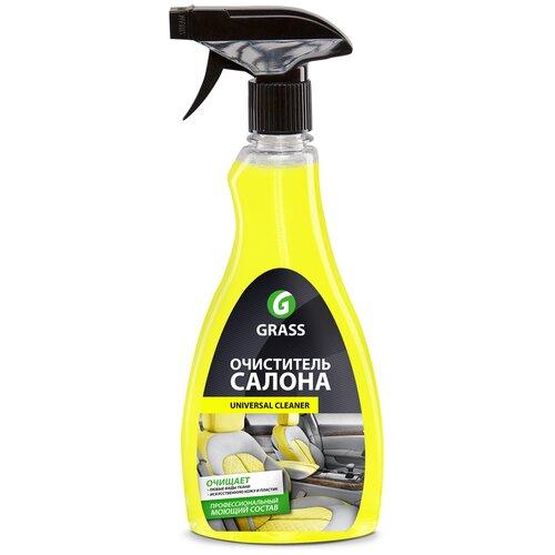 Grass Очиститель салона автомобиля Universal Cleaner (112105), 0.5 л очиститель салона grass universal cleaner 20 кг