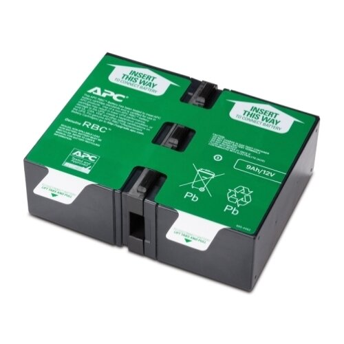 Аккумуляторная батарея APC by Schneider Electric APCRBC124 9 А·ч