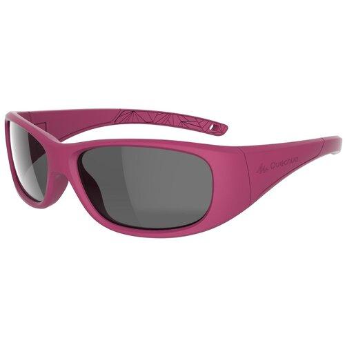 очки солнцезащитные для походов детские mh k120 2–4 лет категория 4 quechua x декатлон Очки солнцезащитные походные MH T100 детские на 6–10 лет, кат. 3 QUECHUA X Декатлон