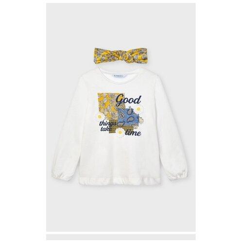 Купить Комплект одежды Mayoral размер 128, бежевый, Комплекты и форма
