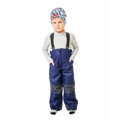 Купить Брюки Филиппок 6049 размер 116 цвет темно-синий, Полукомбинезоны и брюки