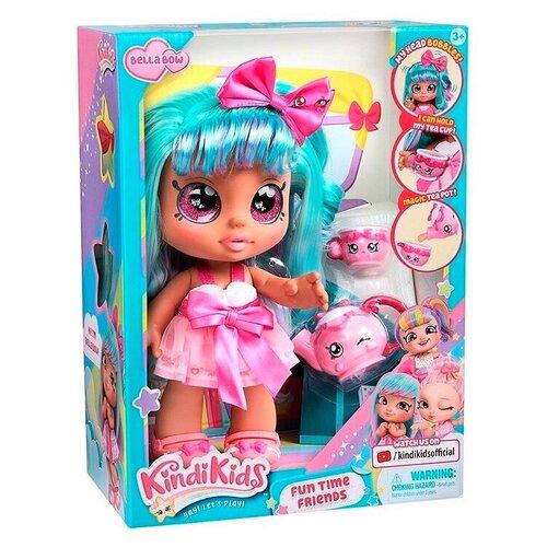 Kindi Kids Fun Time Friends - Pre-School Play Doll, Bella Bow