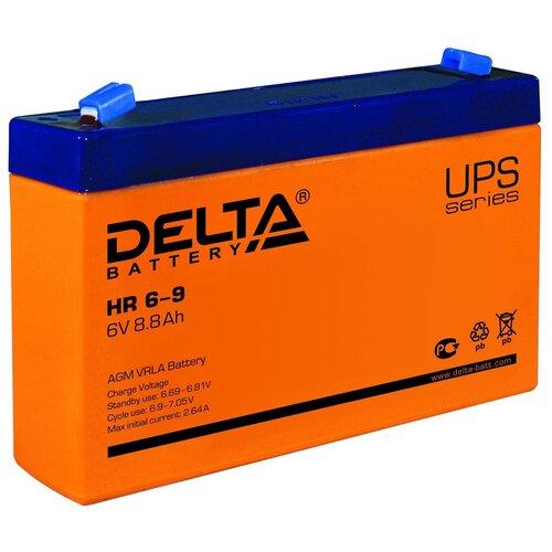 Аккумуляторная батарея DELTA Battery HR 6-9 (634W) 9 А·ч