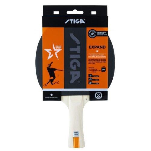 Фото - Ракетка для настольного тенниса Stiga Expand WRB 1*, арт.1211-8518-01 stiga control advance арт 1887 01