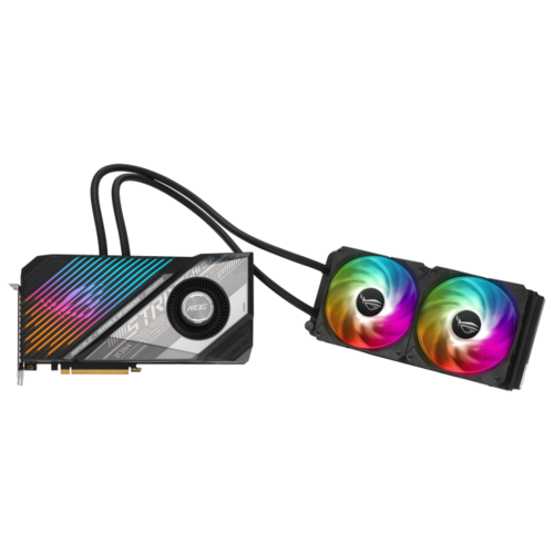 Видеокарта ASUS ROG Strix LC Radeon RX 6900 XT OC 16GB (ROG-STRIX-LC-RX6900XT-O16G-GAMING), Retail