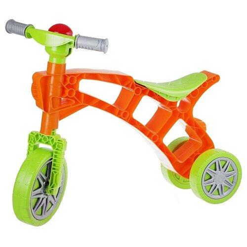 Купить Каталка-толокар Orion Toys Самоделкин (Т3220) зелено-оранжевый, Каталки и качалки