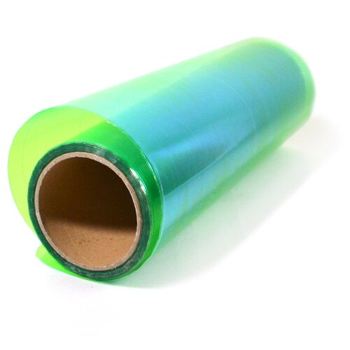 Пленка для фар защитная автомобильная, хамелеон - 30х97 см, цвет: зелёный